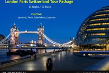 London Paris Switzerland Tour Packages