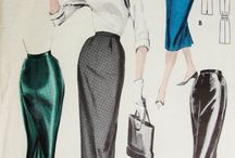Vintage & other sewing patterns
