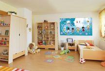 Dětský pokoj a herna inspirace