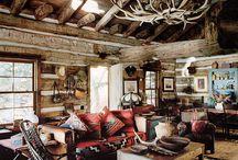 Log Cabin Decor Living Room