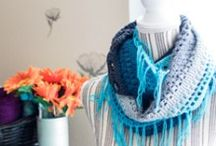 Crochet Scarves and Cowls