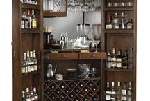 bar cabinet idea