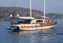 Albatros A / Albatros A is almost a  brand new yacht 2011 made,21 m. in length  deluxe wooden Gulet  with 4 comfortable cabins can accommodate  8 people . Ideal for small groups .You can enjoy the beautiful bays,sea,sun and the nature between Antalya and Bodrum on a Blue Cruise