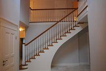 Schody angielskie / Piękne schody kolonialne, które zachwycą Cię jakością wykonania i wytrzymałością.