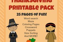 Thanksgiving | Printable Edition