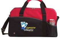 Custom Duffel Bag Ideas / Duffel Bags are the perfect promotional product for anyone looking to camp overnight, go to the gym, or attend a sports event. No matter where a recipient may travel, your custom brand name or logo will travel with them!