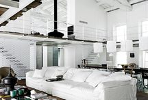 Loft / Loft interiors  Home decorating decor sisustus