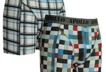Leuke boxershorts voor heren / Boxershorts met vrolijke prints van elastisch katoen.