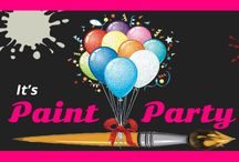 It's Paint Party LLC / come party with us, painting and having fun