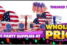 Memorial Day Party Ideas / Memorial Day is a celebration of friends, family and the people who keep us safe. Plan the perfect party to kick off the summer season!