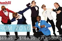 PROM 2017 / Join the Dunhill 2017 #TuxSquad.  www.dunhilltuxedos.com