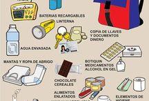 Mochila de Emergencia / Tras varios sismos en varios puntos del planeta, debemos de estar preparados antes cualquier desastres. Saber que debemos incluir en nuestra mochila de emergencia.