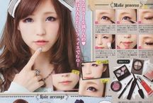Japanese MakeUP&fashion