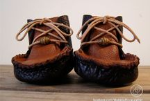 Handmade Deerskin Leather Baby Moccasins by Wadada Africa / Handmade Leather Baby Moccasins made from Repurposed Upcycled Deerskin Leather  |  www.etsy.com/shop/WadadaAfrica
