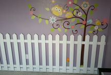 my projects / Fence and tree. I took ideas from different pins and combined them.....