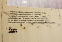 Oiseaux, exposition au Muséum de Genève  / Blanche Corneille & Noire Colombe réalisée par les étudiants du Master Espaces et communication de la HEAD - Genève