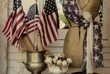 Patriotic Porch / by Michelle Kelm