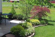 puutarhan reunuksia