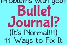 <3 Bullet Journal / This board is for everything bullet journal, planners, binders, trackers for journals, bullet journal inspiration ideas, supplies for bullet journal and anything for lovers of bujo!