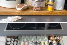 Küche / Küchenvarianten und Details bzw. Dekoideen