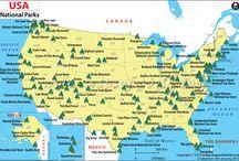 Nationale parken usa