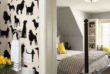 Wallpaper / by Hi Lo Interiors~~~ Trina Leahy
