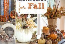 őszi dekor