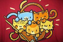 Meryn's Tee Shirt Board / Want a peek into Meryn's closet? Look no further! Meryn is serious about her fandoms!