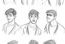 Animações, ilustraçôes