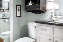 Bathroom update ideas / by Cheri Collins
