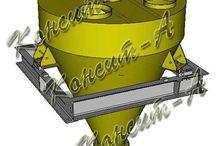 Дозаторы для сыпучих материалов / Оборудование для дозирования сыпучих материалов