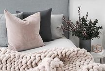 Pink and grey home
