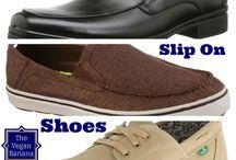 ✦Comfortable Men's Vegan Slip On Shoes✦ / Super comfy men's vegan slip on shoes for that special fella in your life.