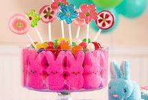 Bonbons de Pâques / Idées de décorations, bar à bonbons et bonbons de Pâques!