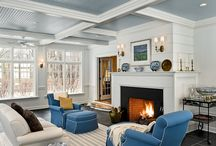 Living rooms / by Stephanie Fisher Designs