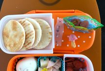Bento LOVE / I have way too much fun packing lunches for my son :)  My lunch looks nothing like his lol!