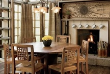 Rustic Chic Fireplace