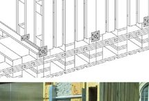 architecture: pallet projects and houses