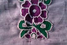 Kashmiri and Bead work / This work is done with kashmiri work and beads works . This can be customised