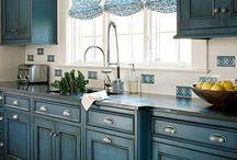 Malowanie mebli kuchennych/ Kitchen Furniture Painting