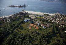 Construcción de pistas de tenis / Construcción de pistas de tenis  AQUATIC® construye la primera pista de tenis en 1970 http://aquaticproyect.com/productos/tenis/