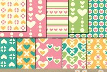 Valentine Clipart and Digital Papers / Valentine Clipart and Digital Papers