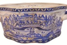 Blue and White Table Bowls / blue and white oriental designed bowls crafted with care.