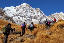 Annapurna Base Camp Trekking 14 Days / Annapurna Base Camp (4,130m) is one of the top trekking destinations in Nepal's Himalaya. This is at an elegant location encircle by snowy peaks of Annapurna range from all direction. This trekking conducts along the north of Pokhara in west-central Nepal, the focal point is Mt. Annapurna I (8,091m) which is the 10th highest mountain in the world.