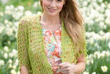 Scarfs and Shawls / Crocheted shawls and scarfs  / by Miranda Mabry