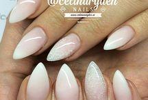 paznokcie - ślubne