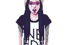 pixel art - stills and styles