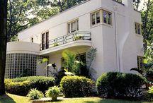 Art Moderne houses