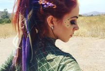 Freaky Fashionable Hairstyles