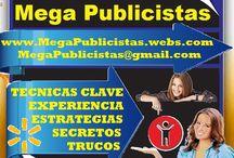 MEGA PUBLICISTAS - SUPER VENDEDORES / PYP. PAGINA Y PUBLICIDAD. MEGA PUBLICISTAS. SUPER VENDEDORES.  www.megapublicistas.webs.com